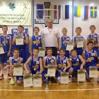 Keila 2000. aastal sündinud poiste meeskond võitis oma esimesed kuldmedalid