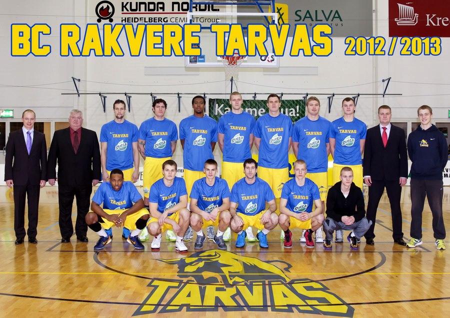 BC Rakvere Tarvas valiti Lääne-Viru parimaks võistkonnaks