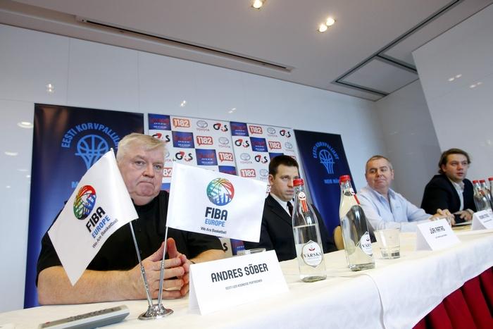 Eesti Korvpalliliit ja FIBA Europe tutvustasid U20 EM-finaalturniiri
