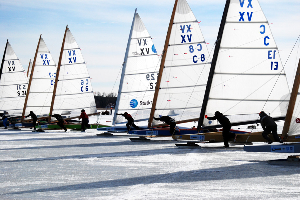 Eesti sai jääpurjetamise EM-il pronksi
