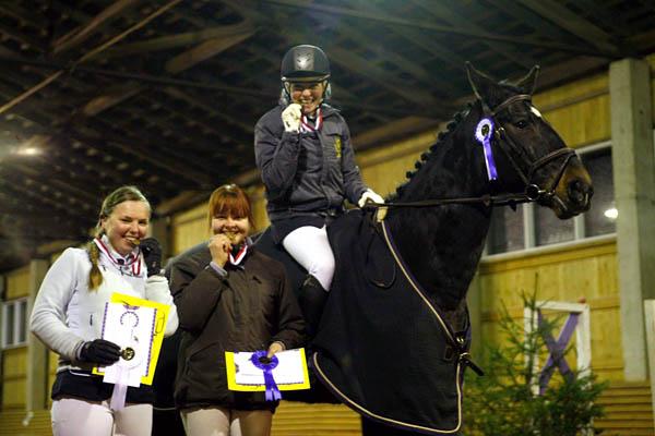 Tartu linna meistriks ratsutamise kahevõistluses tuli Siret Saks