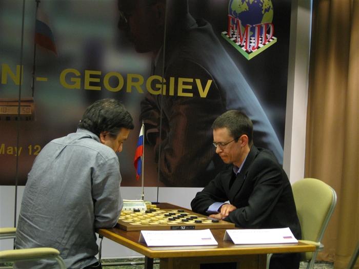 Valitsev kabe maailmameister Aleksander Georgiev taastas võidulootuse