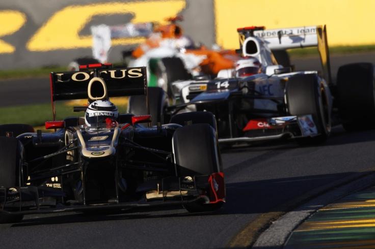 Lotus F1 Team tõusis Hispaania GP-l poodiumile