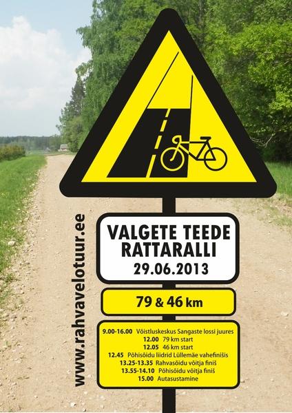 Eesti rattavõistluste maastikule lisandub Valgete Teede Rattaralli