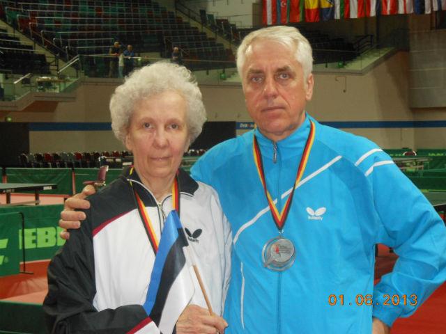 Kabrits ja Lindmäe võitsid lauatennise EM-ilt kulla ja hõbeda!