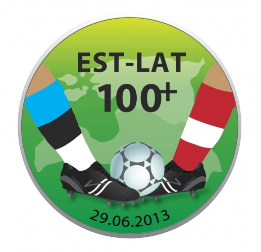 Sportland Arenal kohtuvad Eesti ja Läti jalgpallifännid
