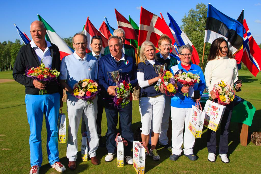 Jõelähtmel selgitati välja golfi Euroopa seenioride meistrid