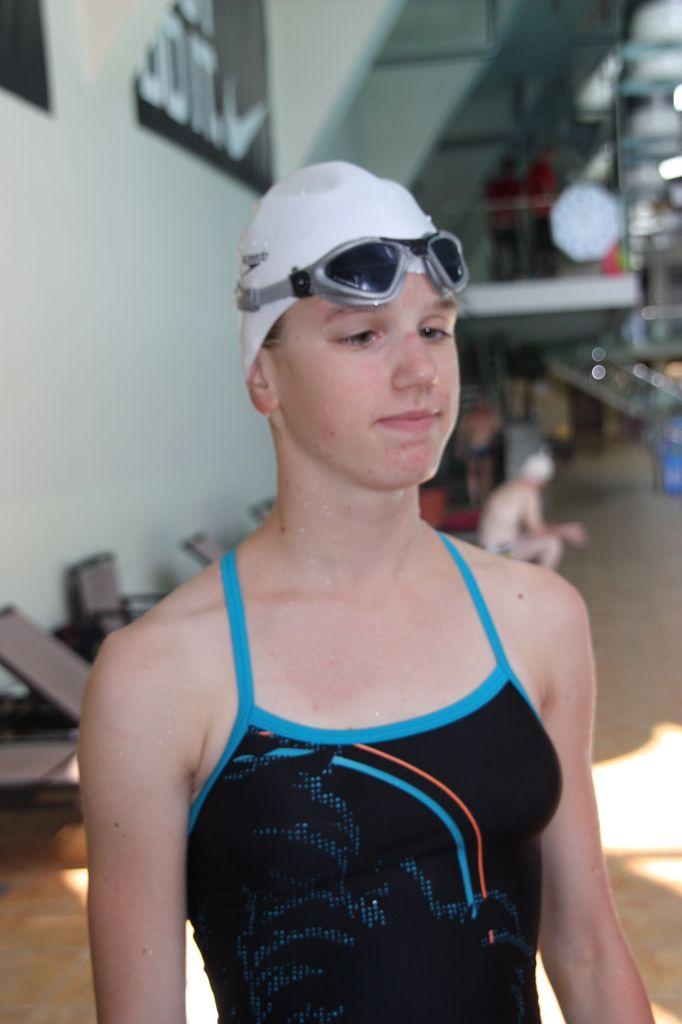 12-aastase Eesti pimeda ujuja debüüt MM-il tõi talle isikliku rekordi