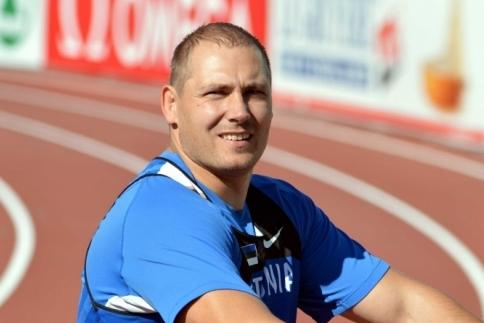 Gerd Kanter võitis MM-il pronksmedali