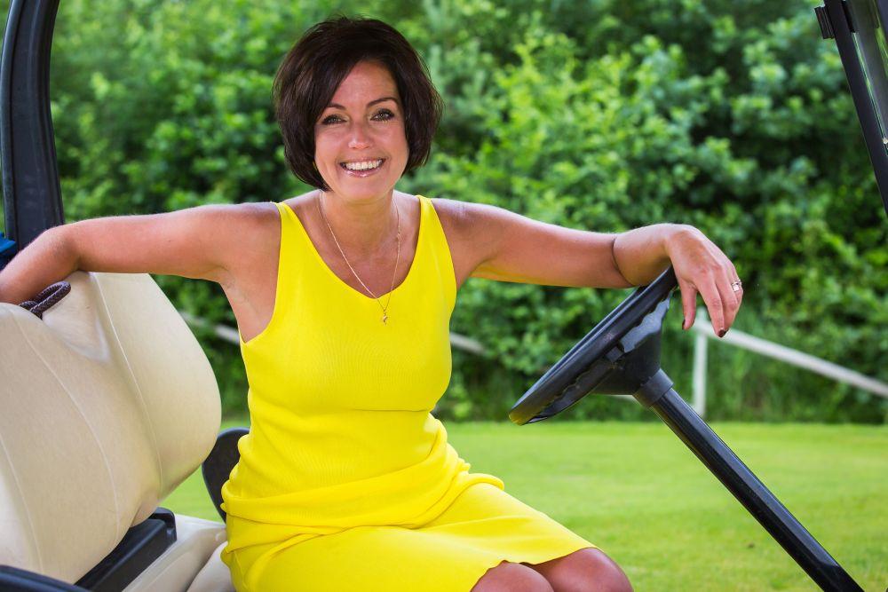 Golfiajakirja peatoimetaja Ivika Liblik naudib tervislikke eluviise