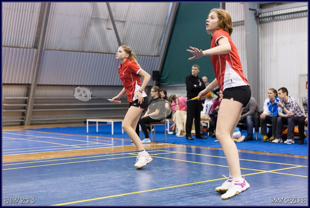 Kati-Kreet Marran ja Sale-Liis Teesalu võitsid Leedu turniiril naiste paarismängu