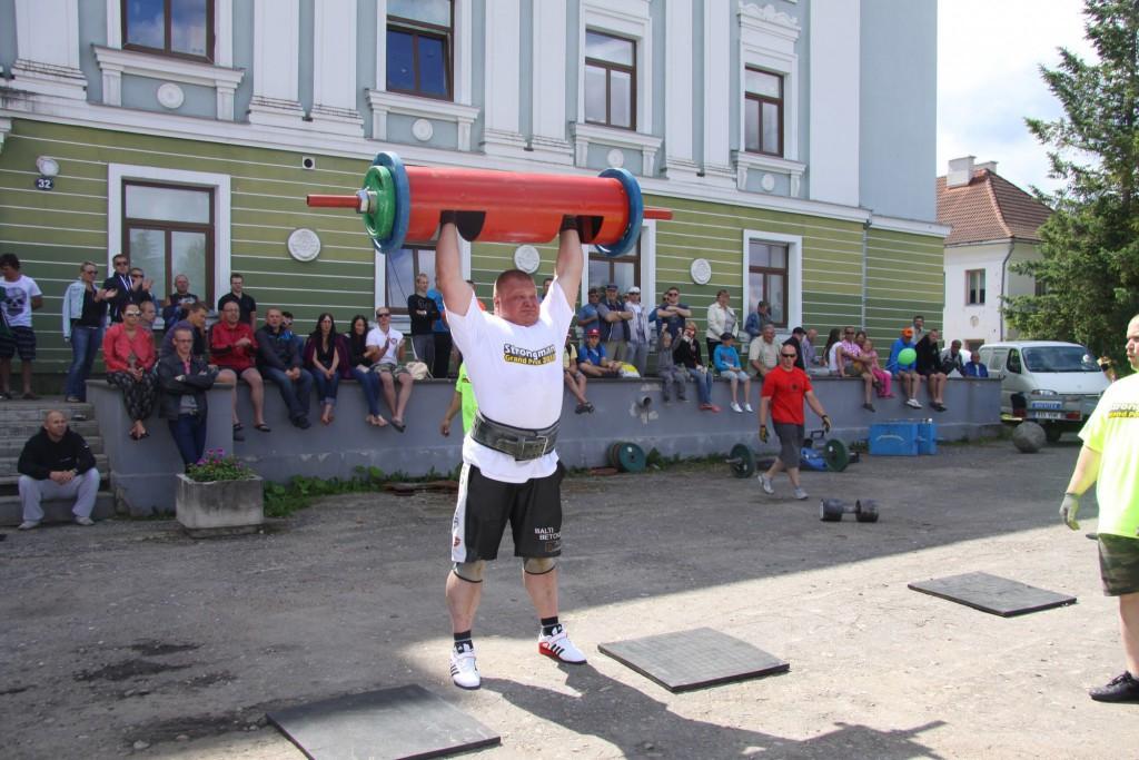 """Eestis toimub maailmatasemel gigantide võistlus """"Estonia versus MHP Strongman Champions League team"""""""