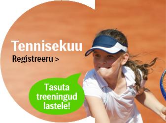 SEB Tallink Tennis Team otsib noori talente