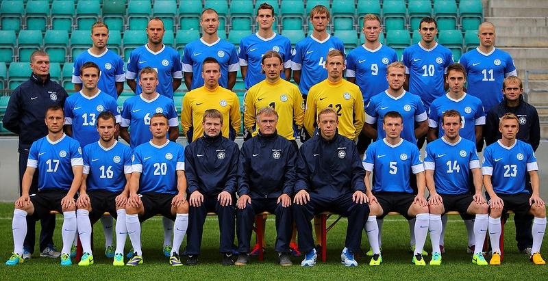 Eesti koondis tõusis FIFA edetabelis