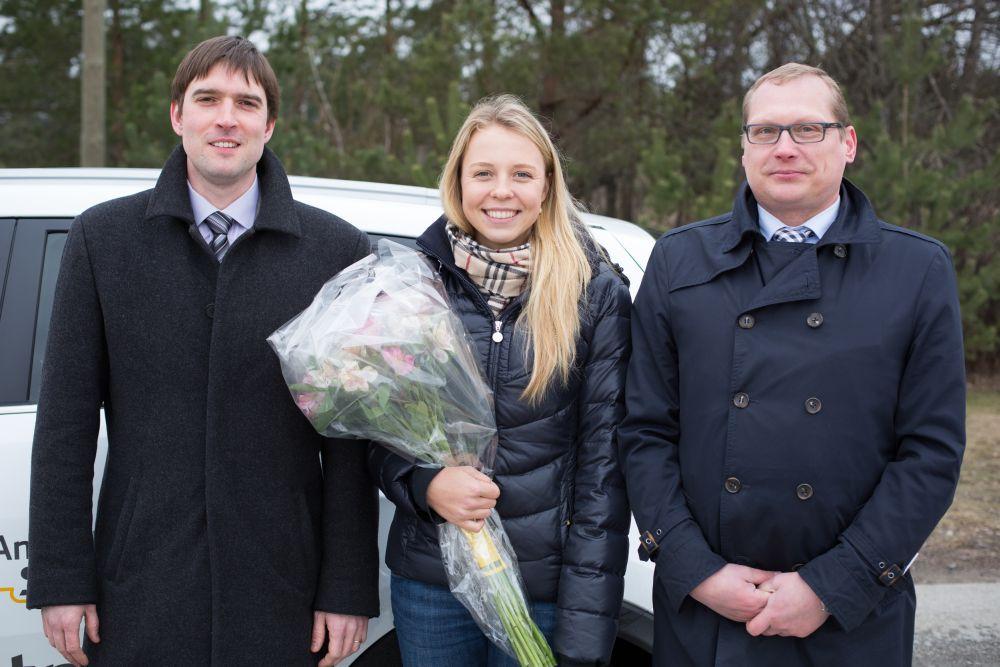 4a92d421e33 AS Viking Motors kinkis Anett Kontaveitile Eesti esimese uuenenud ...