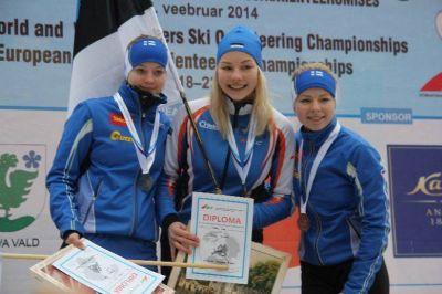 Doris Kudre tuli teist aastat järjest Euroopa noortemeistriks