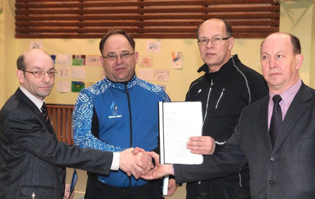 Tulemuslikumad treeninggrupid Jõgevamaal said Eesti Olümpiakomitee rahastuse