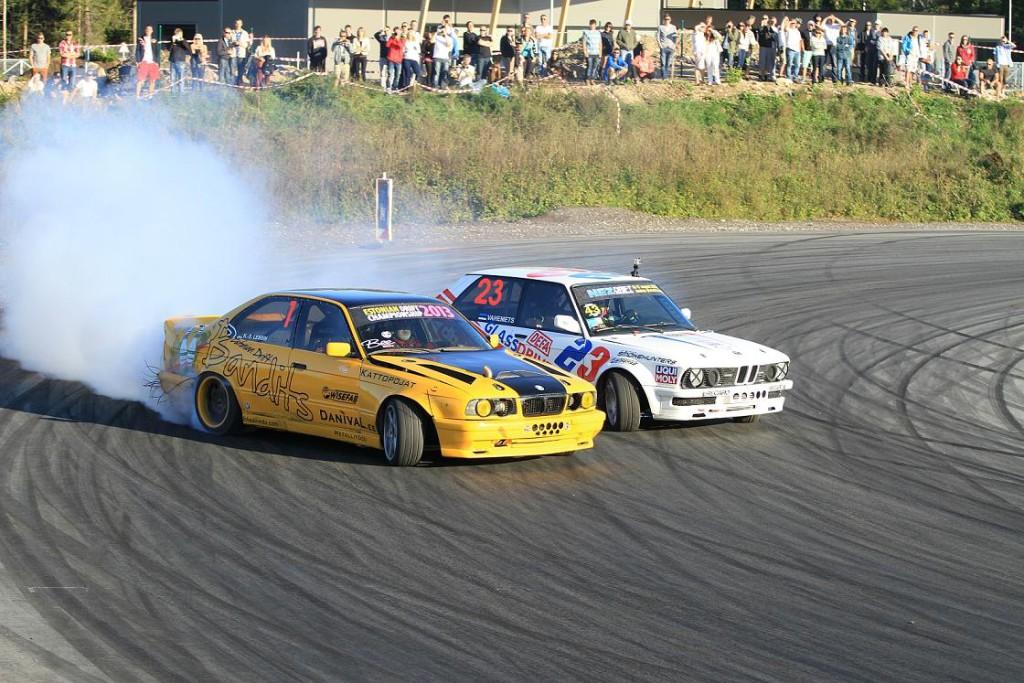 Drifti hooaeg algab suure võistlusega Saku Suurhalli juures
