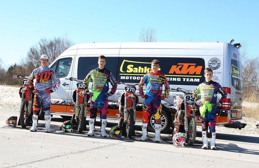 Eesti meeskond Sahkar KTM Racing avas oma motokrossi MM-hooaja Itaalias