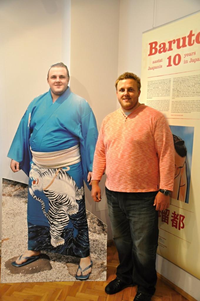 """Näitus """"Baruto. 10 aastat Jaapanis"""" Eesti Spordimuuseumis"""