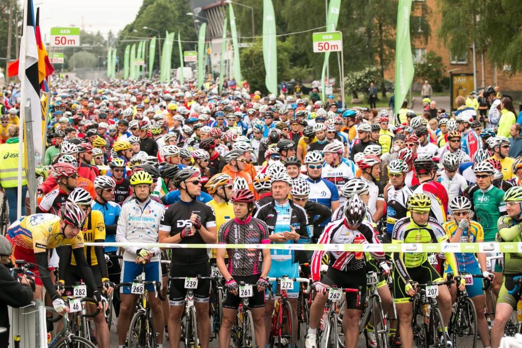 Ligi 7500 ratturit osales SEB 33. Tartu Rattarallil
