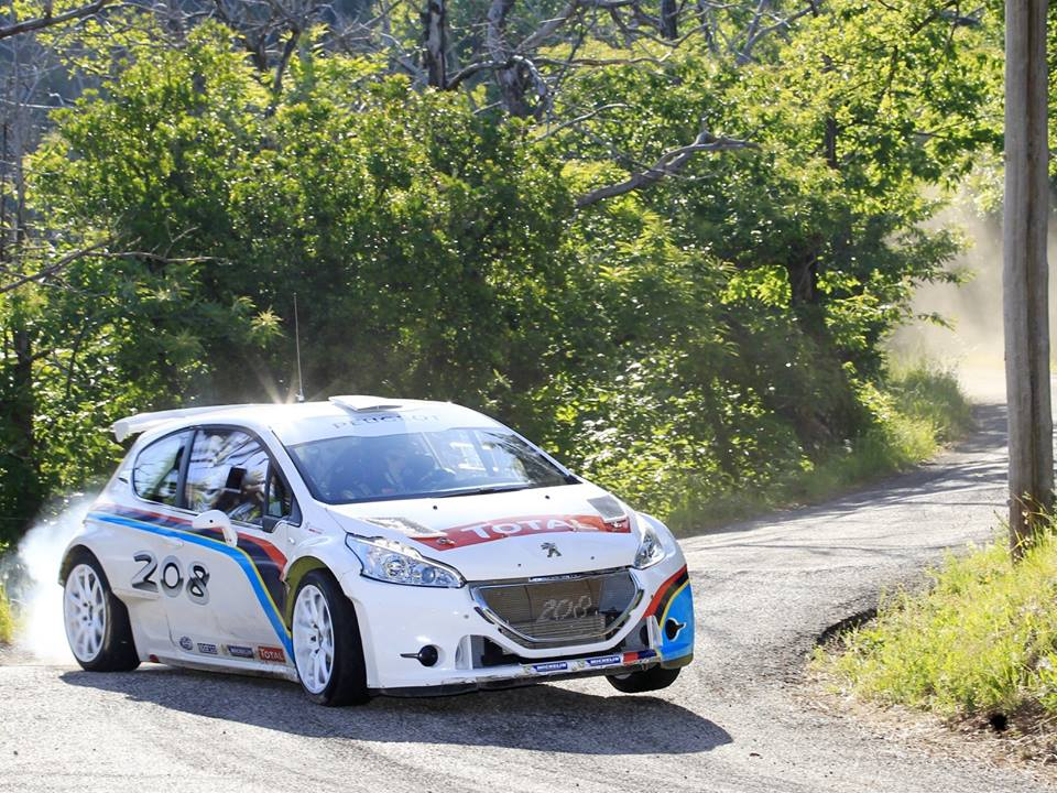 Siim Plangi stardib auto24 Rally Estonial Peugeot 208 R5 autoga