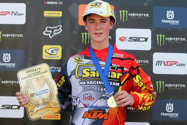 Sahkar KTM Racing ja Jago Geerts tulid motokrossi Euroopa meistriks