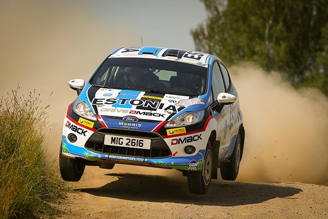 Sander Pärn ja James Morgan stardivad auto24 rally Estonial