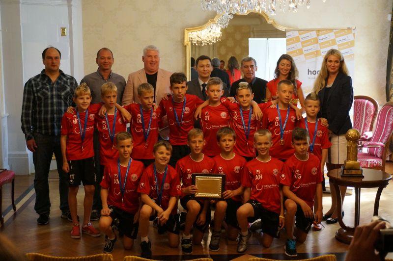 Tallinn noored jalgpallurid võitsid Gothia Cupi