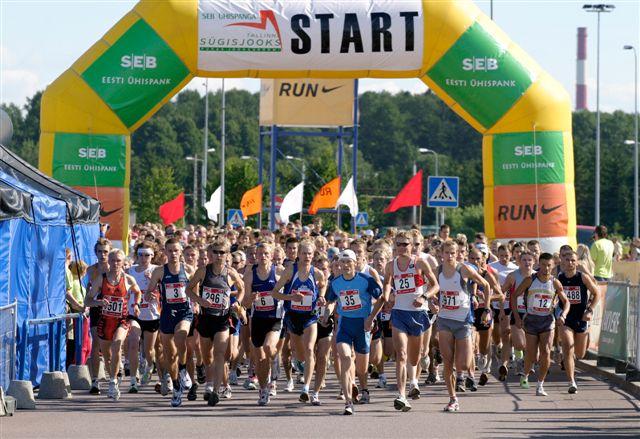 SEB Tallinna Maratonile on tulemas rekordiliselt maratonijooksjaid