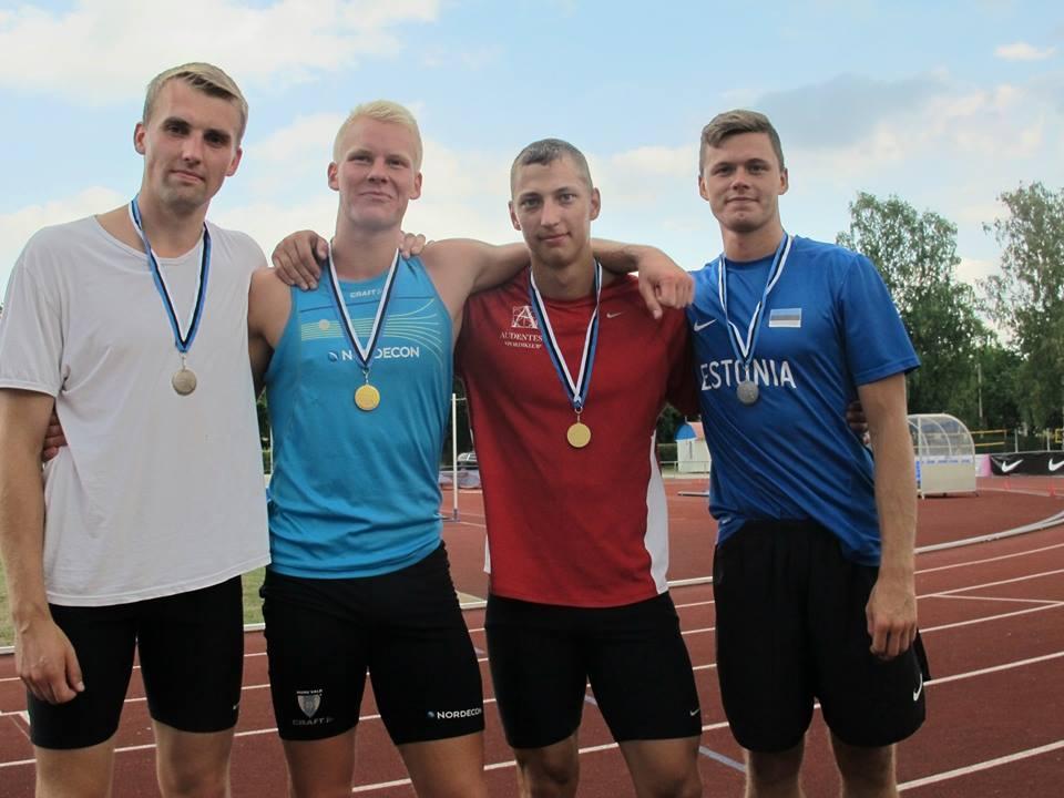 Eesti meistriteks mitmevõistluses krooniti Kaarel Jõeväli ja Linda Treiel