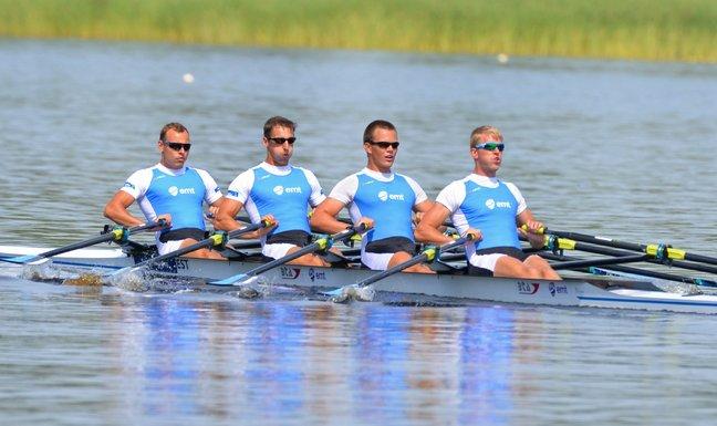 Eesti paarisaeruline neljapaat eelsõidu parima ajaga kindlalt poolfinaalis
