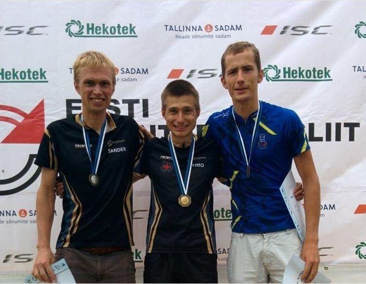 Rõuges selgusid Eesti meistrid orienteerumissprindis