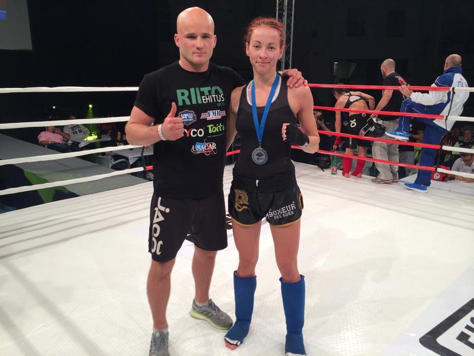 Eesti taipoksi amatsoon Andra Aho sai Euroopa meistriks