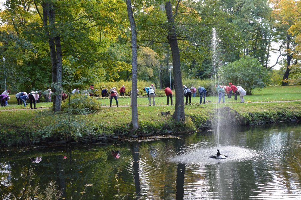 Löwenruh pargis toimuv kepikõnd osutus populaarseks