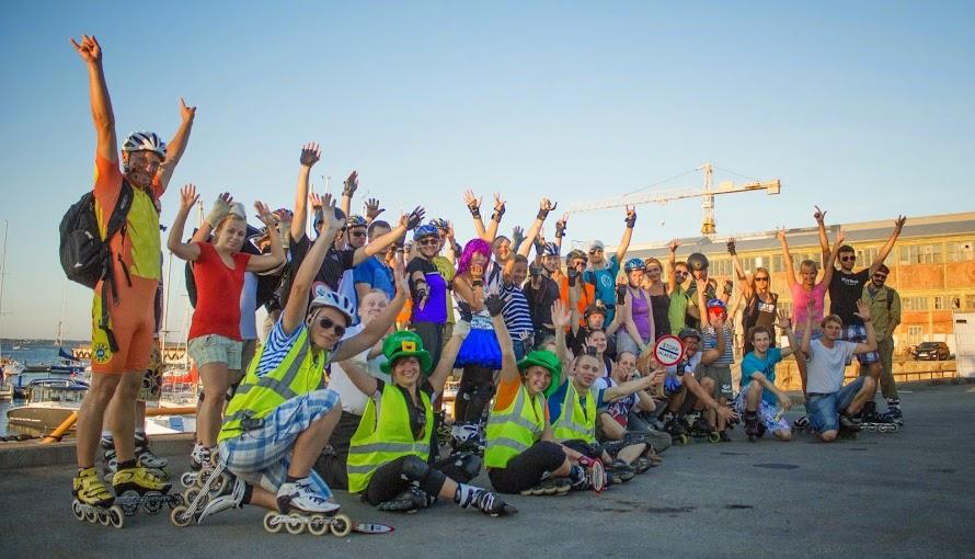 FRIDAY NIGHT Skate'ikad on läbinud kokku üle 500 kilomeetri
