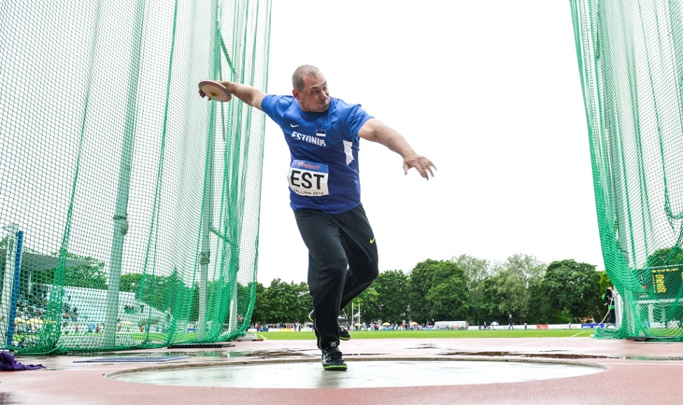 Gerd Kanter sai karjääri viimasel tiitlivõistlusel viienda koha
