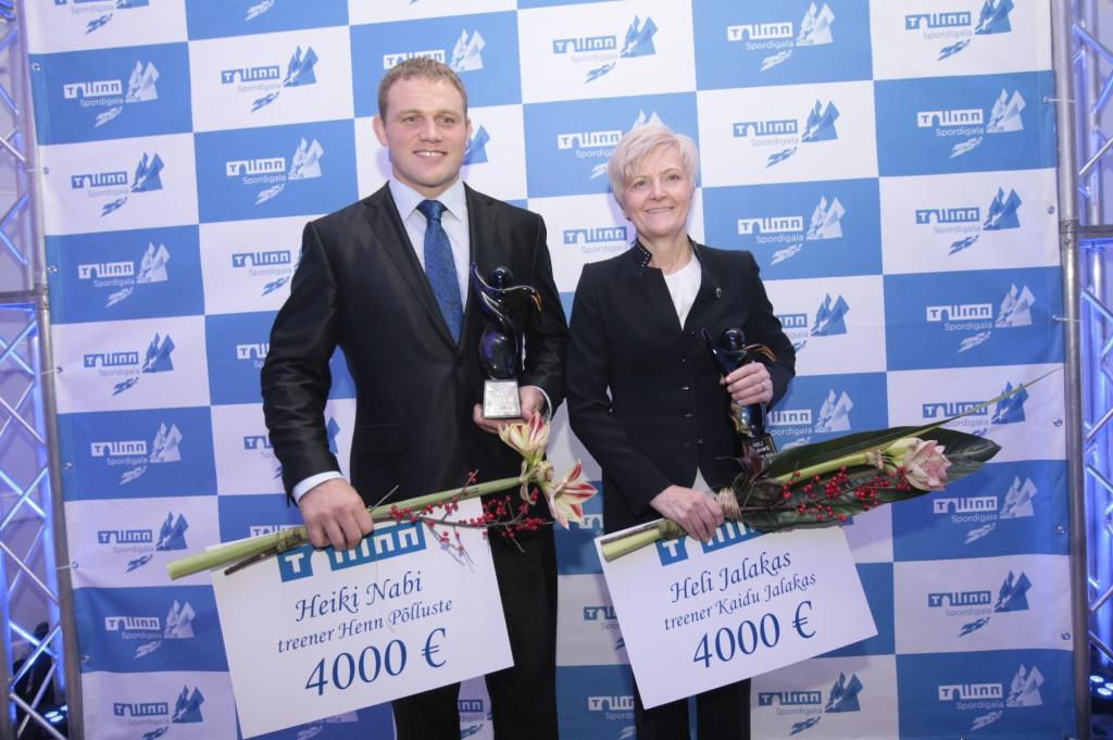 Selgusid Tallinna parimad sportlased ja parim võistkond