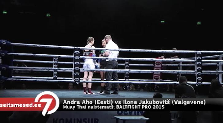 Seitsmesed uudised: TÄISPIKK MATŠ: Andra Aho vs Ilona Jakubovitš