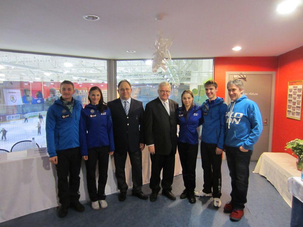 Tallinn toetab juunioride iluuisutamise maailmameistrivõistlusi