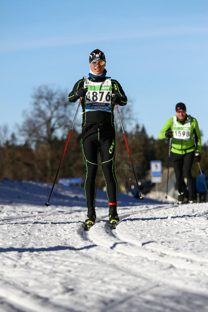 Joel Juht: maratonirajal ei tohi alla anda