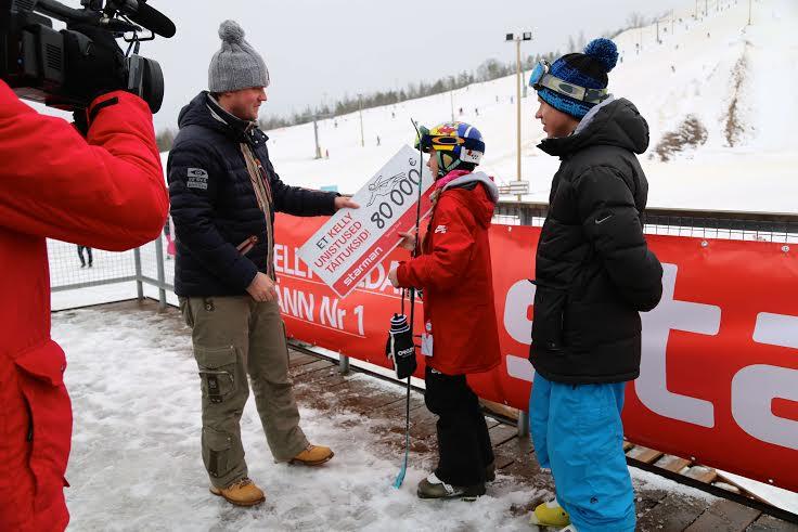 Starman toetab Kelly Sildaru olümpiaettevalmistusi 80 000 euroga