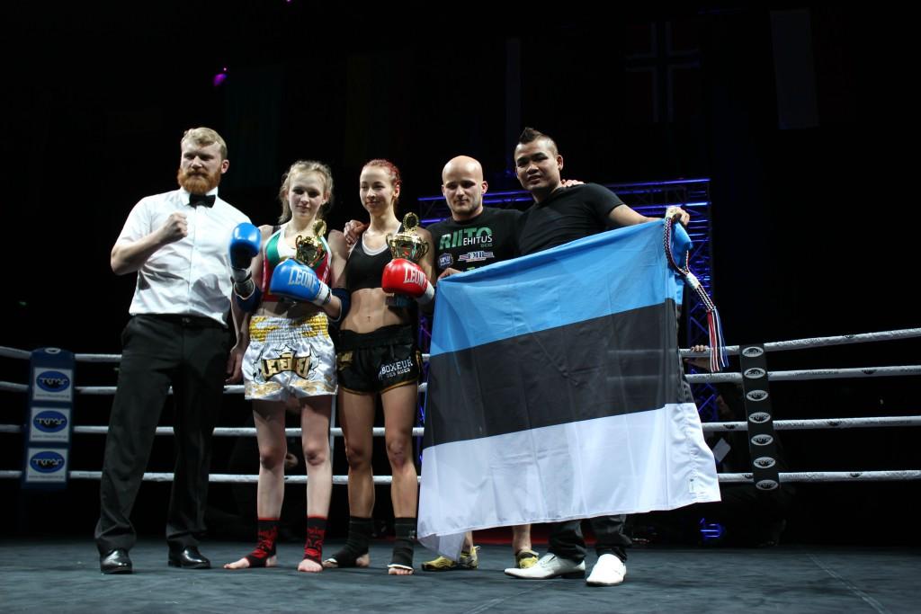 Eesti Tai poksi sportlased särasid Tondiraba jäähallis