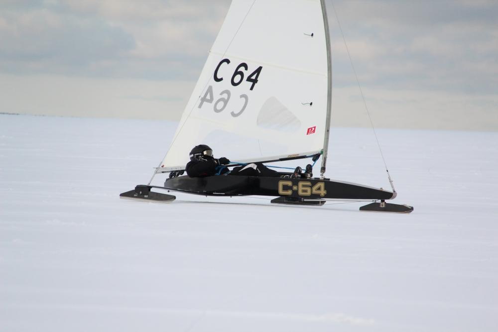 Akermann on jääpurjetamise EM-il 5. ja Vooremaa 9. kohal