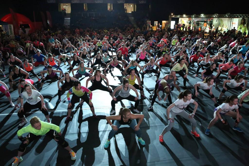 Tuhat inimest koguneb sel nädalavahetusel Saku Suurhalli sportima