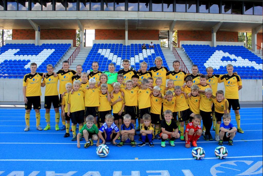 FC Otepää mängijad Foto: FC Otepää