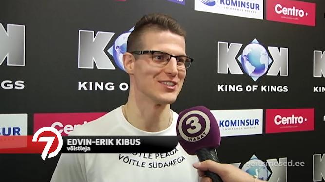 King of Kings: Edvin-Erik Kibus intervjuu