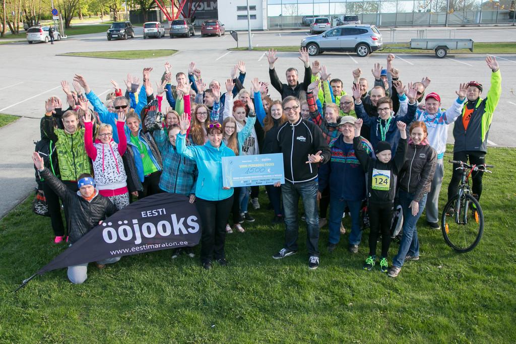 HEADUS SÄRAB! Heategevusliku kevadjooksuga koguti raha Vinni Perekodu lastele