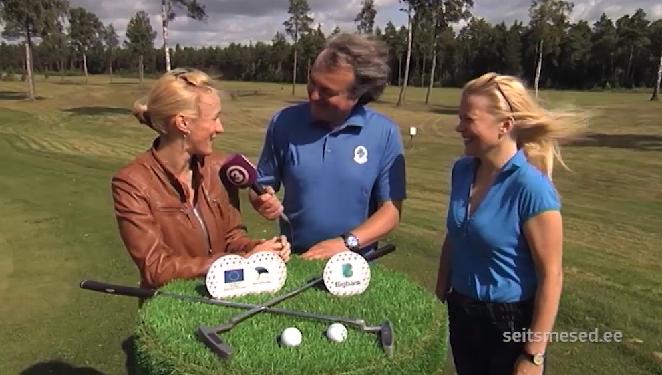 VIDEO! TV3 GOLFIUUDISED! Golfis ainult tüdrukud — Liina Randpere ja Anu Säärits