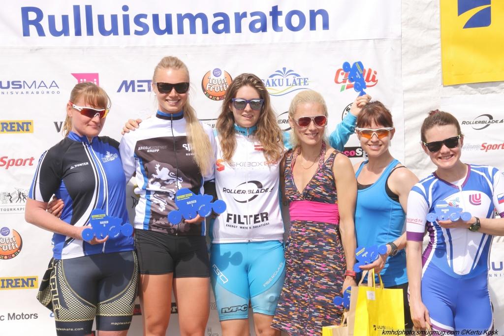 Eesti meistriteks rulluisutamise maratonidistantsidel krooniti Kert Keskpaik ja Saskia Alusalu!